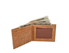 Men's Vegan Cork Wallet.  Natural Cork