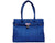 The Smyrna Bag-Sapphire Blue Cork Handbag