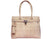The Smyrna Bag-Natural Embossed Cork Handbag