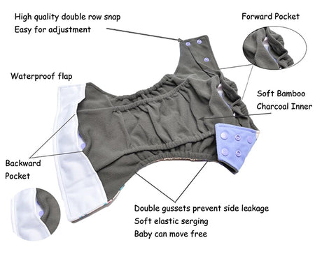 Top Reasons to Switch to Reusable Adjustable Cloth Diapers!
