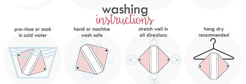 How to wash menstrual pads