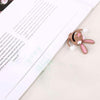Cute 3D Kawaii Squished Rabbit Bookmark