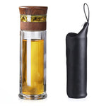 Serene Smart Infuser Bottle -  Wood grain