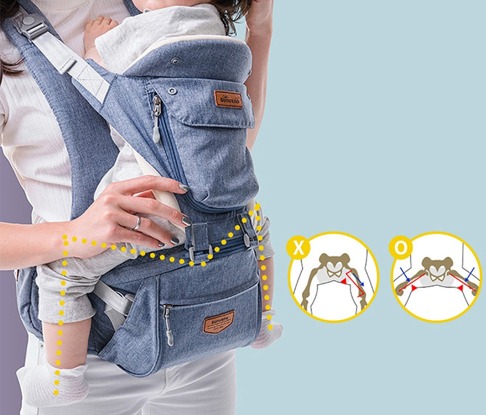 6-in-1 Ergonomic Baby Carrier
