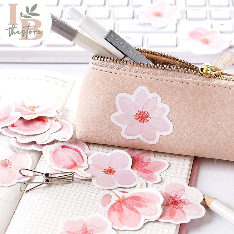 Japanese Cherry Blossom Sticker Set