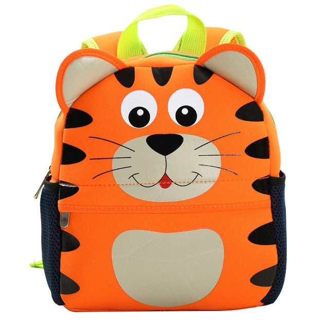 3D Tiger Toddler Backpack