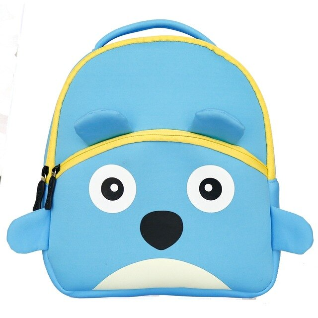 3D Puppy Toddler Backpack