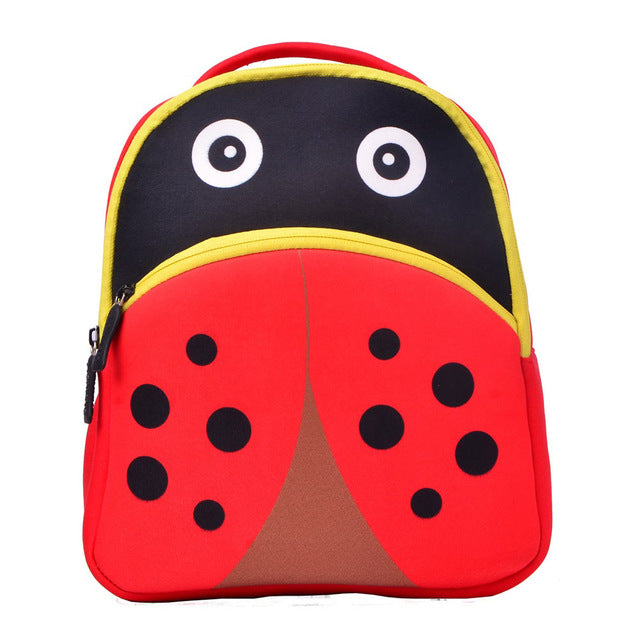 3D Ladybug Toddler Backpack