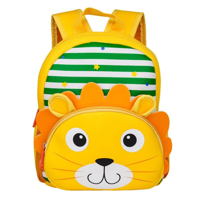 3D Lion Toddler Backpack