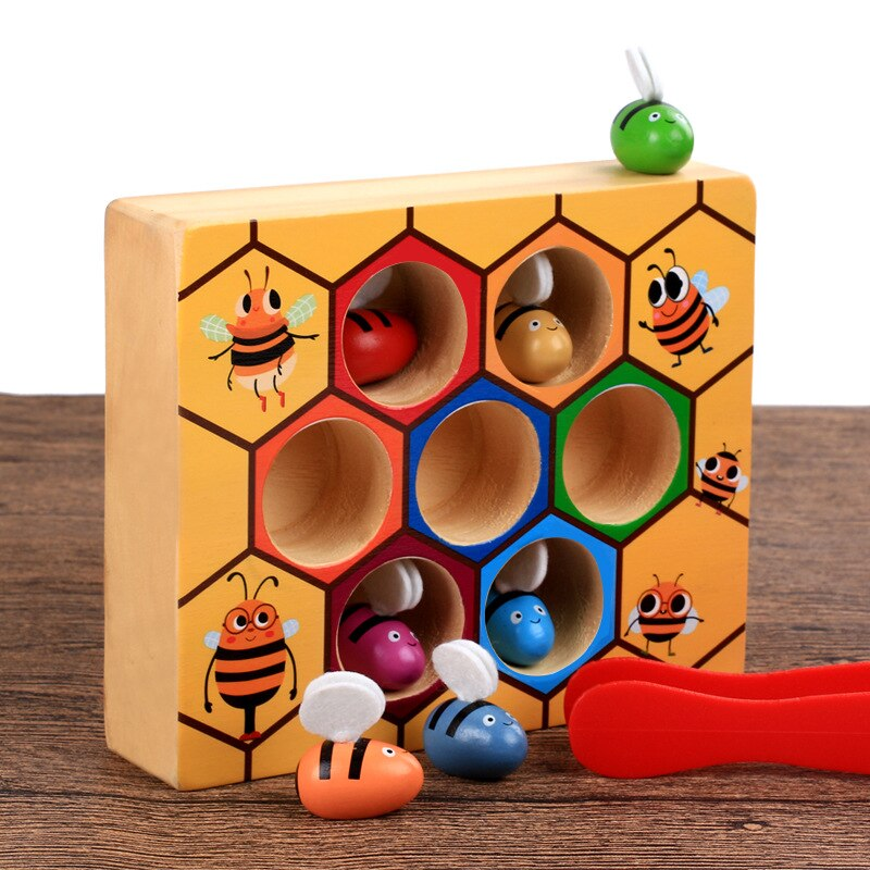 Bee to Hive Color Matching Game