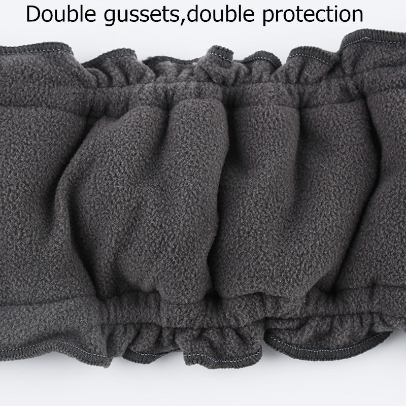 4-Layer Anti-Leak Gussets Bamboo Charcoal Diaper Inserts - Pack of 5