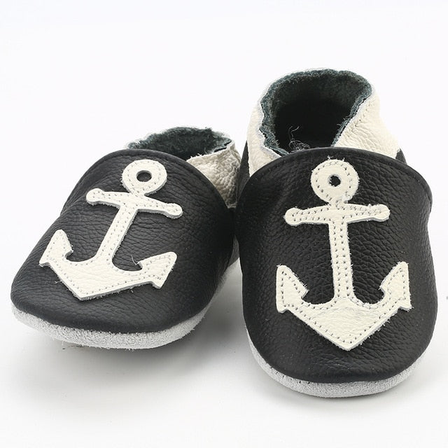 Anchor Baby Moccasins
