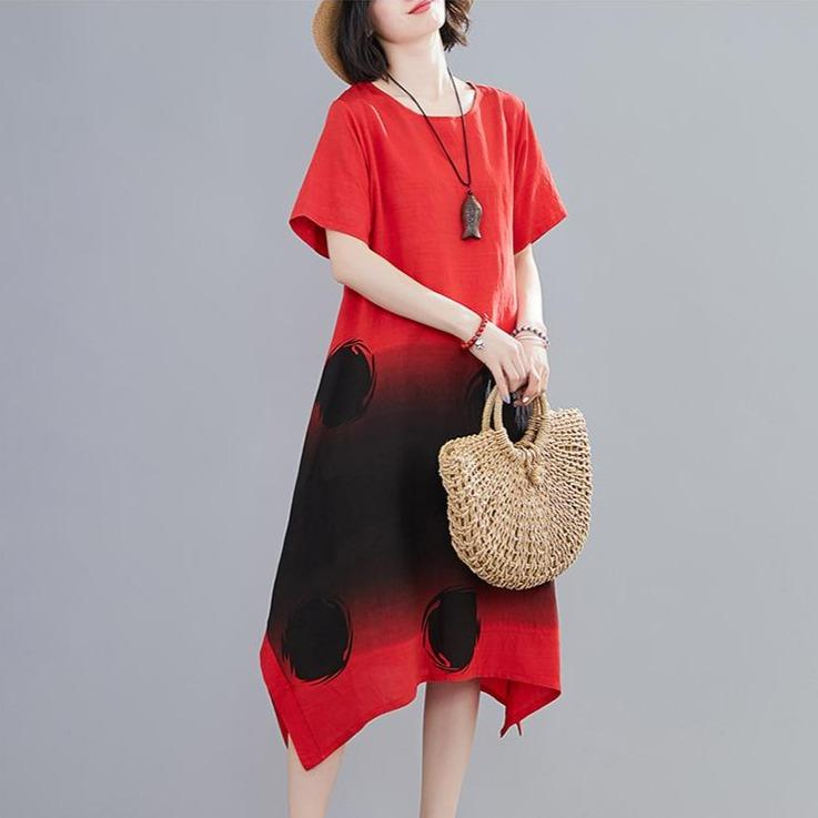 Kara Kaftan Sundress - Red