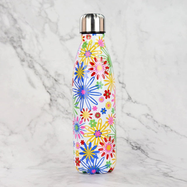 Boho Stainless Steel Vacuum Flask - 500 ml