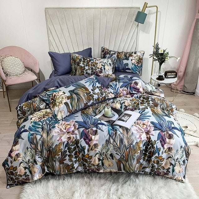 Blossom Harmony Bedding Set- Egyptian Cotton