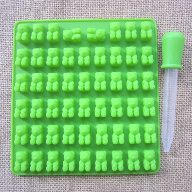 Silicone Bears Mold Kit