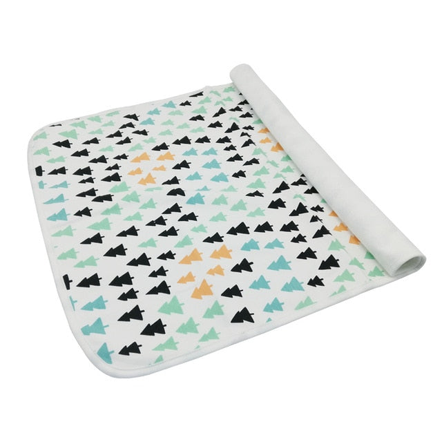 Washable Bamboo Cotton Changing Pad (L)