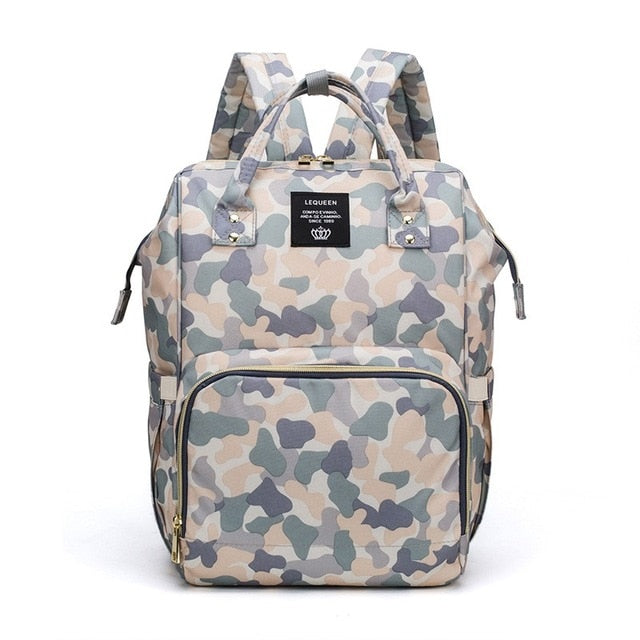 Urban Pack Diaper Bag -  Camouflage