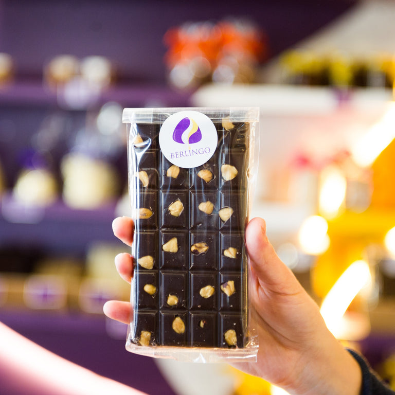 Only the best chocolate for our customers made from real ingredients.