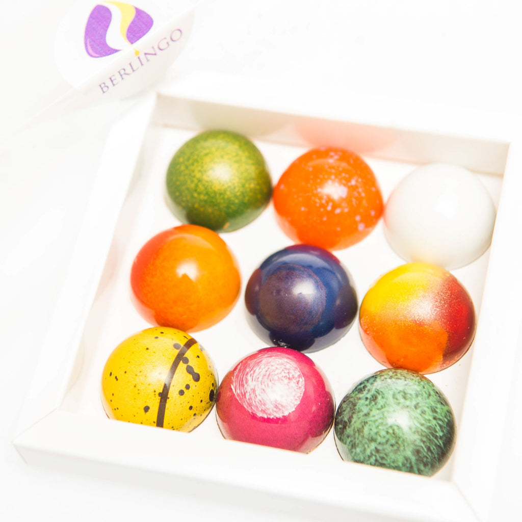 BERLINGO bonbons by Yann BLanchard for the best chocolates in Calgary!