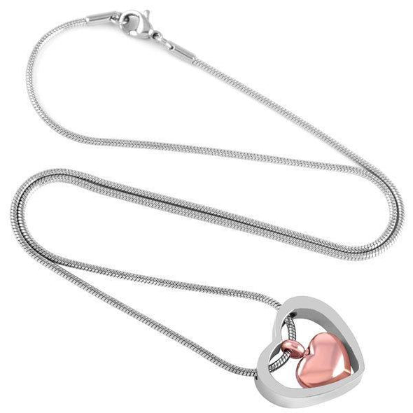 Heart In Heart - Urn Necklace