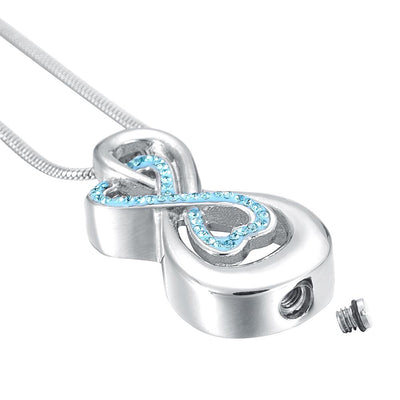 Love You To Infinity - Urn Necklace