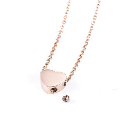 Mini Heart - Urn Necklace