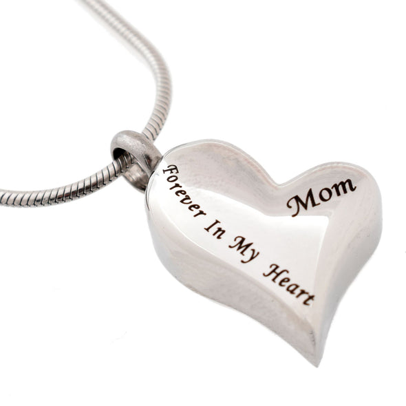 Forever In My Heart Mom - Urn Necklace