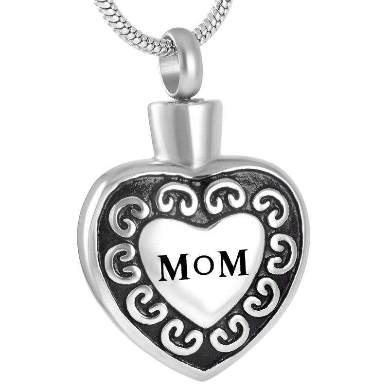 Mom In My Heart - Urn Necklace