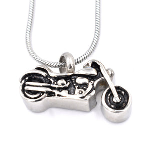 Motorcycle Style 2 - Urn Necklace