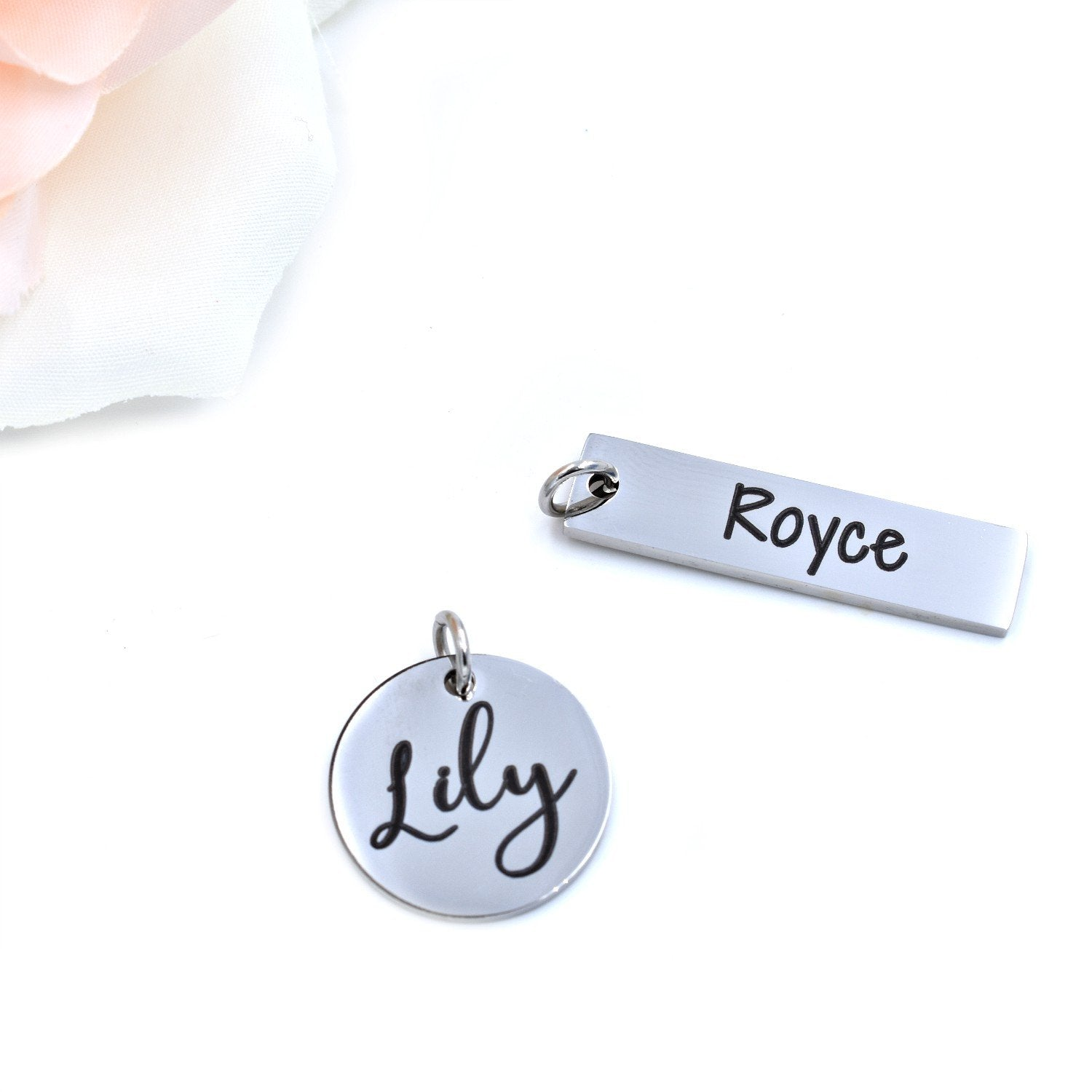 Custom Name / Text Charms