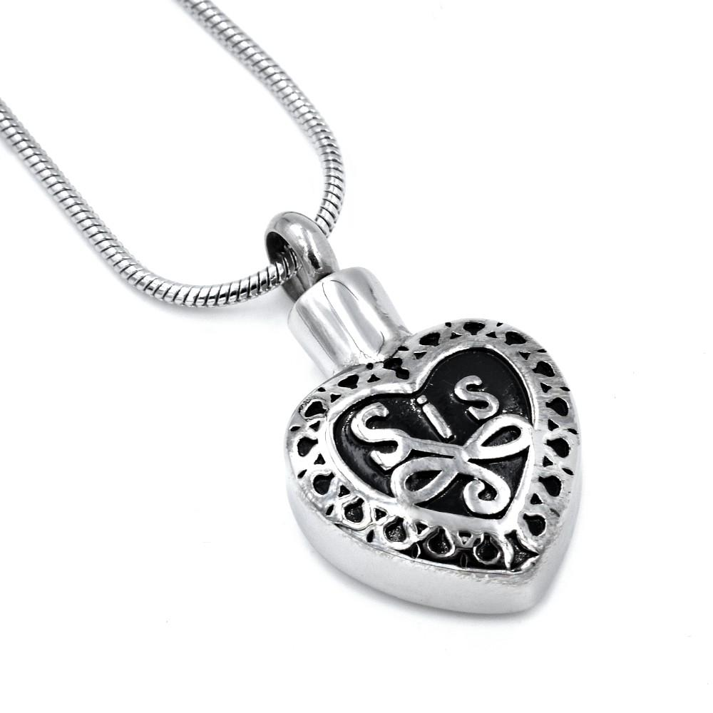 Sis Heart with Scrollwork