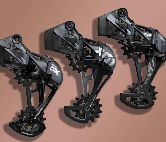 SRAM Eagle AXS Compared | GX Eagle AXS vs X01 Eagle AXS  vs XX1 Eagle AXS | Which is best for you?