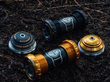 Load image into Gallery viewer, 2021 Chris King ThreadFit 24 Bottom Bracket - The Lost Co. - Chris King - AABY - 841529104196 - Two Tone Black and Gold -