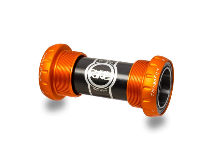 Chris King ThreadFit 24 Bottom Bracket - The Lost Co. - Chris King - FW0810 - 841529072617 - Matte Mango -