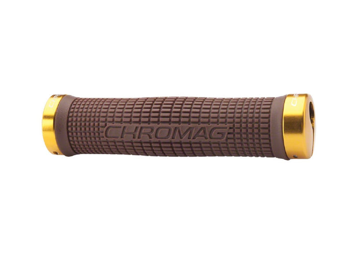Chromag SquareWave Grips - The Lost Co. - Chromag - 170-001-16 - 826974002341 - Brown -