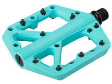 Load image into Gallery viewer, Crank Brothers Stamp 1 Pedals - The Lost Co. - Crank Brothers - 16386 - 641300163868 - Turquoise - Large