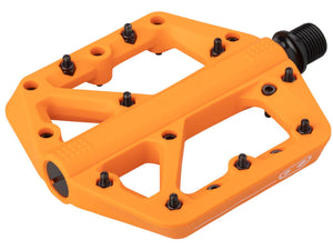 Crank Brothers Stamp 1 Pedals - The Lost Co. - Crank Brothers - 16388 - 641300163882 - Orange - Large