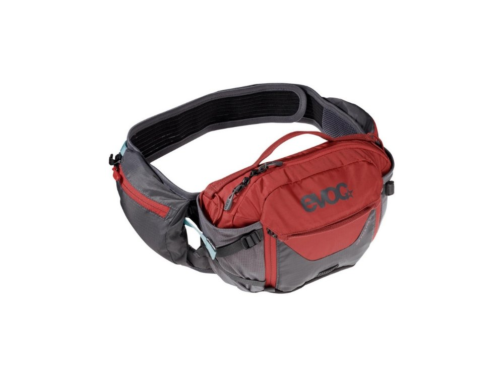 EVOC Hip Pack Pro 3L - The Lost Co. - EVOC - 102503126 - Carbon Grey/Chili Red -