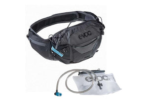 EVOC Hip Pack Pro 3L w/ Bladder - The Lost Co. - EVOC - 102504120 - 4250450721499 - Black/Carbon Grey -