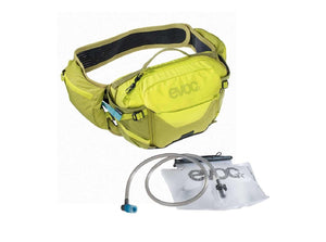 EVOC Hip Pack Pro 3L w/ Bladder - The Lost Co. - EVOC - 102504415 - 4250450721512 - Sulphur/Moss -