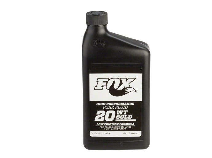Fox 20 Weight Gold Bath Oil - The Lost Co. - Fox Racing Shox - 025-03-072 - 611056189368 - 32oz -