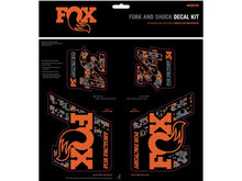 Load image into Gallery viewer, Fox Heritage Decal Kit - The Lost Co. - Fox Racing Shox - 803-01-336 - 611056170724 - Stealth -