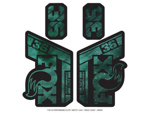 Ground Keeper Fox 36 Performance Decals - The Lost Co. - Ground Keeper Fenders - SQ4027067 - 723803858288 - Space Cadet Green -