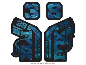Ground Keeper Fox 38 Factory Decals - The Lost Co. - Ground Keeper Fenders - SQ7746125 - 723803858363 - Space Cadet Blue -