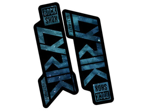 Ground Keeper RockShox Lyrik Decals - The Lost Co. - Ground Keeper Fenders - SQ3407518 - 723803858455 - Space Cadet Blue -