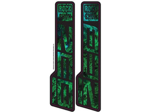 Ground Keeper RockShox Zeb Ultimate Decals - The Lost Co. - Ground Keeper Fenders - SQ7427614 - 723803858752 - Space Ferns -