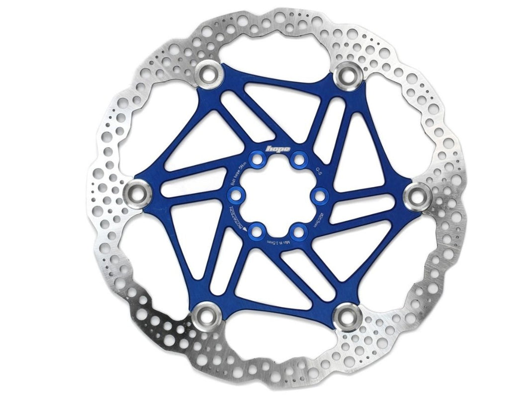Hope Floating Rotor - The Lost Co. - Hope - HBSP3301606FB - 5056033417983 - 160mm - Blue