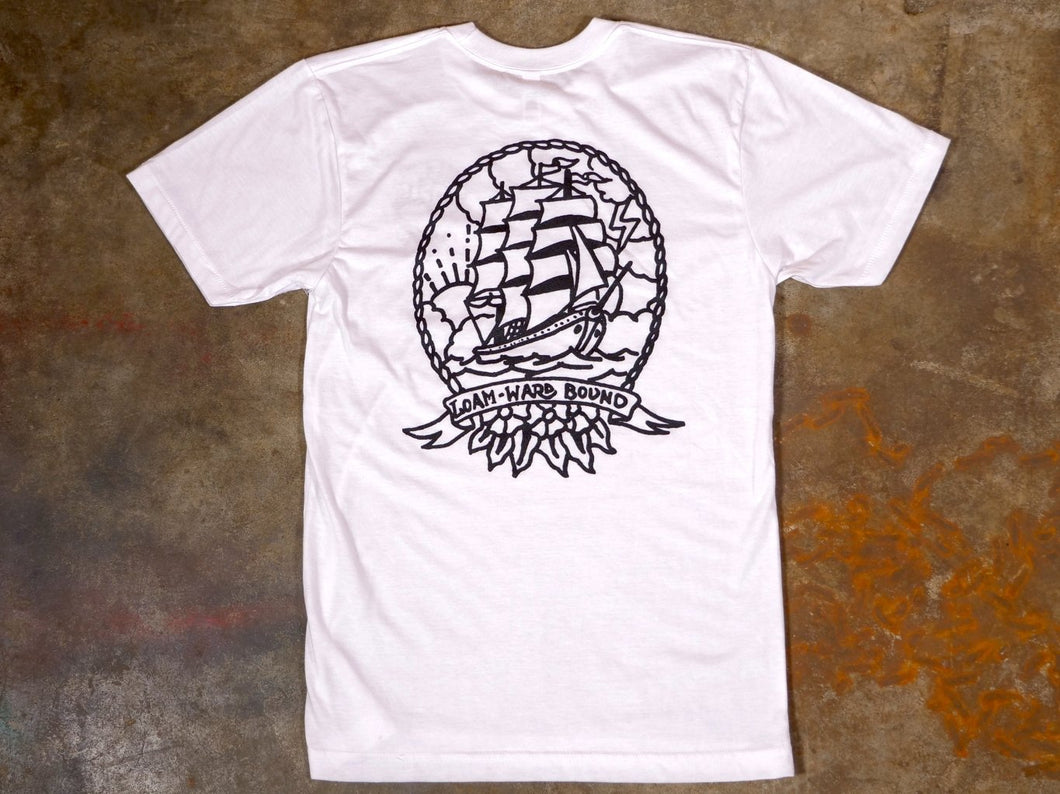 Loamward Bound Tee - White - The Lost Co. - The Lost Co - LOAMBND-WHT-XS - 90779969 - XS -