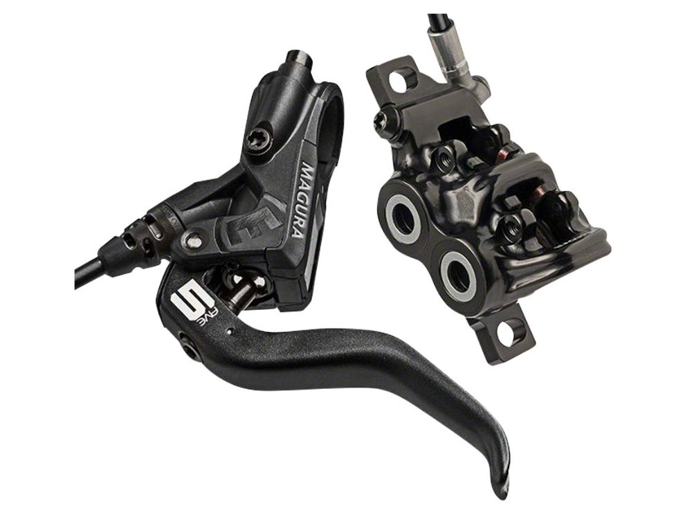 Magura MT5 Disc Brake and Lever - Front or Rear, Black - The Lost Co. - Magura - 2700477 - 4055184010839 - Default Title -